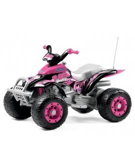 Quad électrico Corral T-Rex Pink