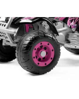 Quad électrique Corral T-Rex Pink