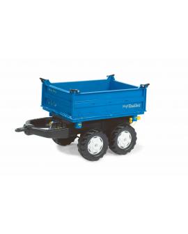 Remorque jouet Megatrailer bleue
