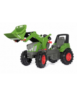 Tracter-pédales-jouet-Fendt-939-Vario-Rollyfarmtrac-chargueur-frontal-710263-rolly-toys-Agridiver
